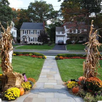 best front yard landscape design company in Bergen County, New Jersey