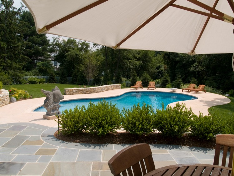 Pool designs nj borst landscape design for Pool design inc bordentown nj